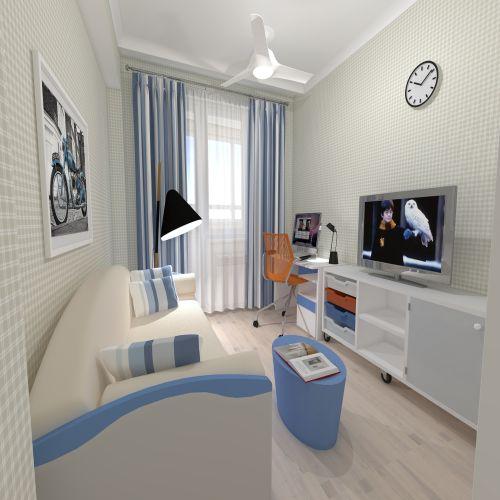 Жилой Комплекс «Калининский-2» - Квартира №113, 2-комнатная, 60.38м2