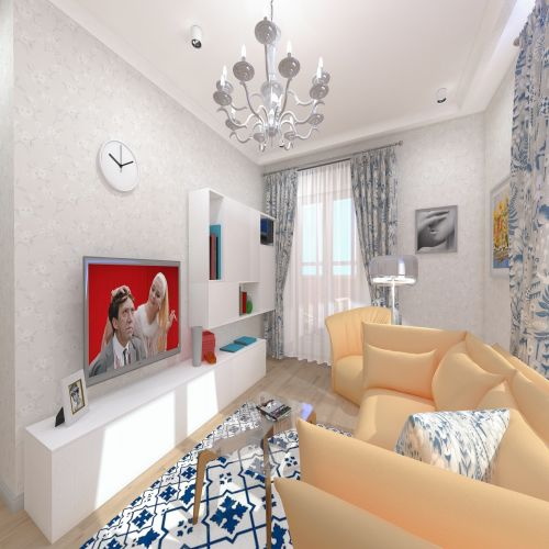 Жилой Комплекс «Калининский-2» - Квартира №223, 2-комнатная, 60.38м2
