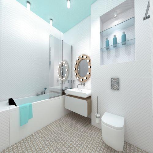 Жилой Комплекс «Калининский-2» - Квартира №56, 4-комнатная студия, 85.87м2