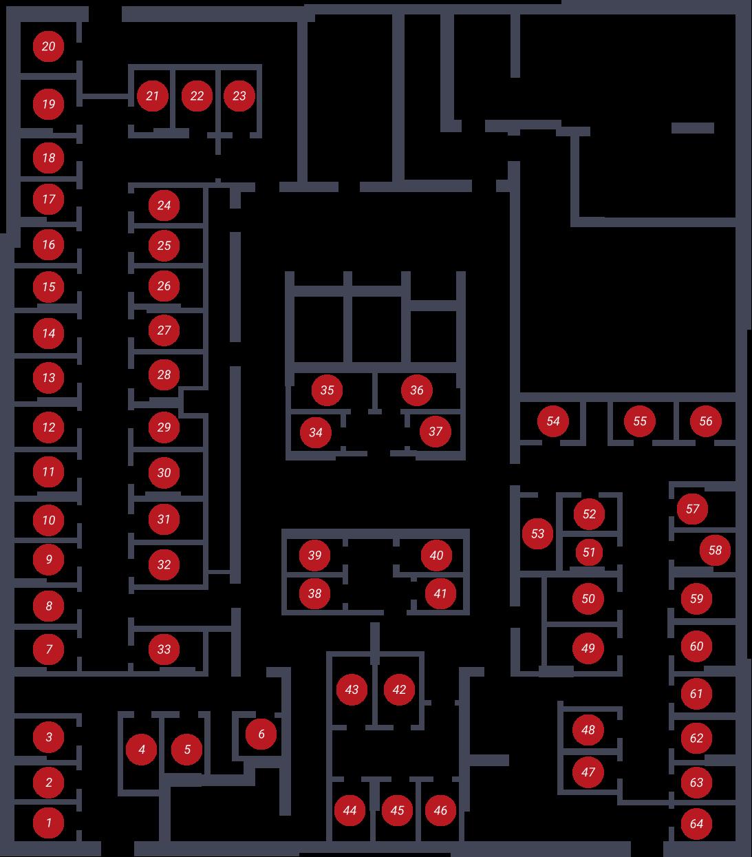 ЖК «Чкалов-2» - дом 8б стр., подъезд 1, этаж -1