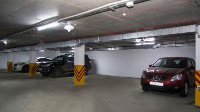 Парковка на красном
